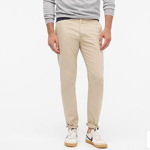 J. Crew 484 Slim-fit garment-dyed stretch chino 32